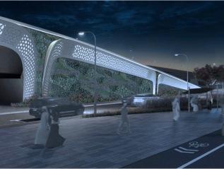 Al Bustan Bridge South,Qatar